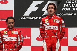 Massa: én voltam a nem hivatalos második számú Alonso mögött