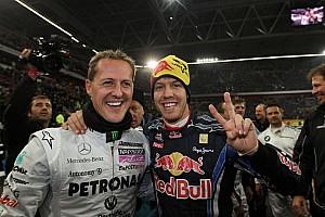 Schumacher quería llevar a Vettel a Ferrari