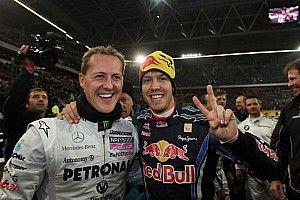 'Schumacher wilde Vettel al vroeg naar Ferrari halen'