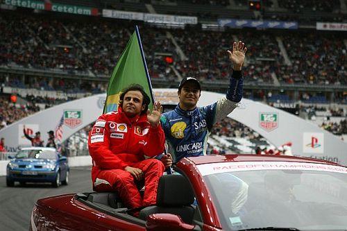 Massa e Piquet mostram distanciamento uma década após pódio