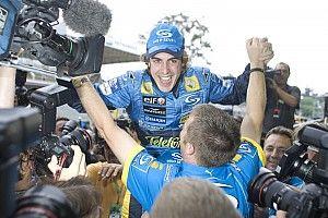 Alonso, az F1-es ikon, aki így örült a nagy diadal végén: videó