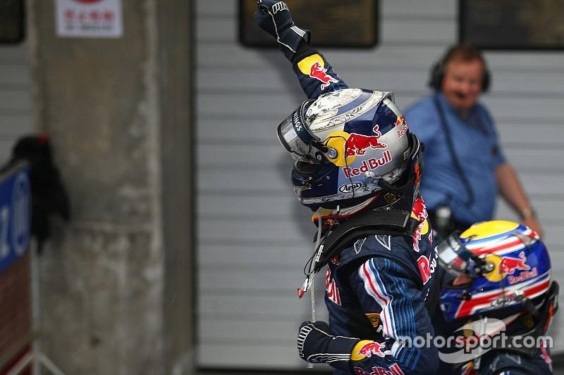 Há 10 anos, Vettel iniciava reinado da Red Bull com vitória na China; Relembre