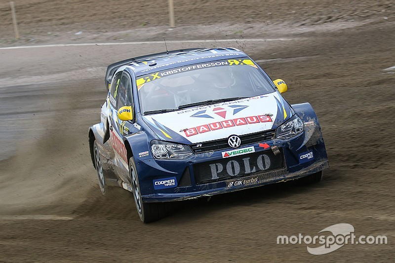 Sweden WRX: Kristoffersson ends Day 1 on top
