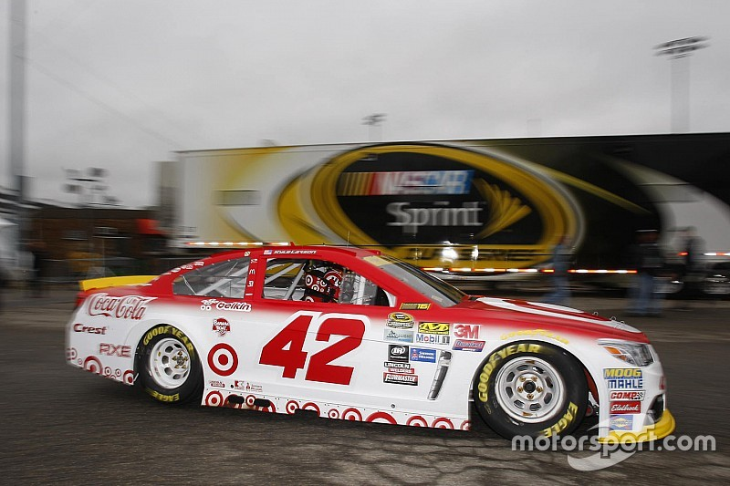 Larson tops first Cup practice at Dover