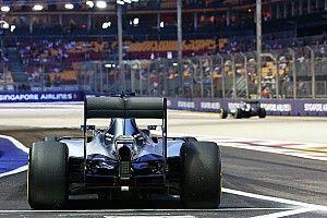 Pirelli reduces rear tyre pressures for Singapore