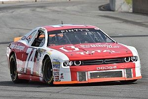 Kevin Lacroix grabs pole for the NASCAR Pinty's Series at CTMP