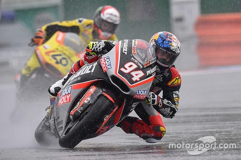 Moto2 Brno: Folger juara di trek basah, Zarco finis ke-11