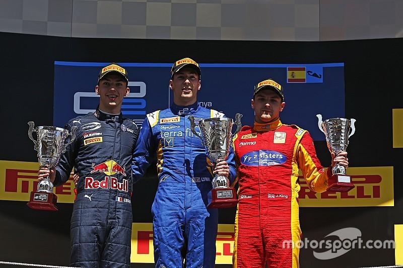 GP2スペインラウンド。ナトとリンが勝利を分け合う