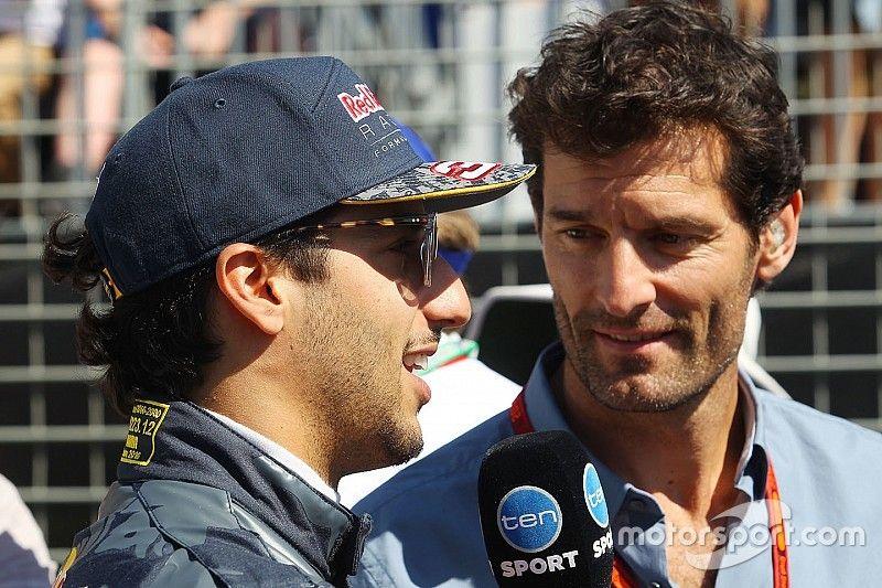 Webber elkezdett aggódni Ricciardo karrierje miatt