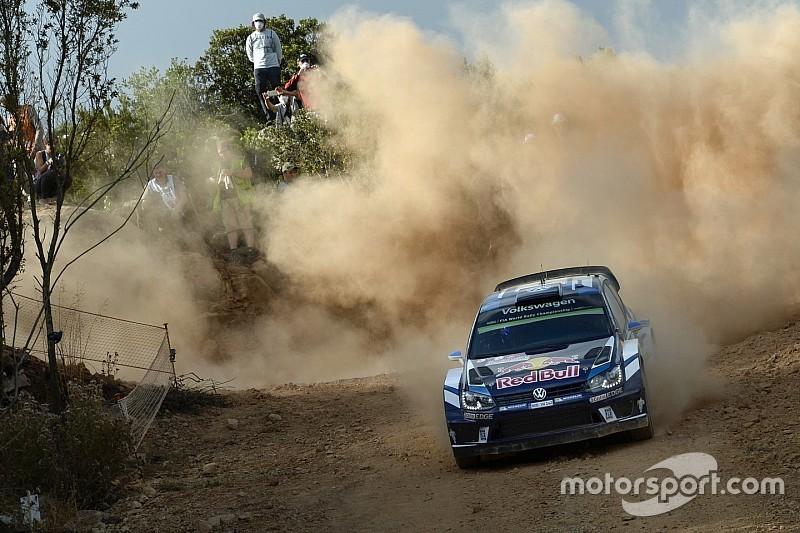 WRC Italia: Ogier memimpin setelah Super Special hari Kamis