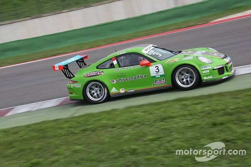 Misano: Mattia Drudi è il più veloce nelle libere 2 della Carrera Cup Italia