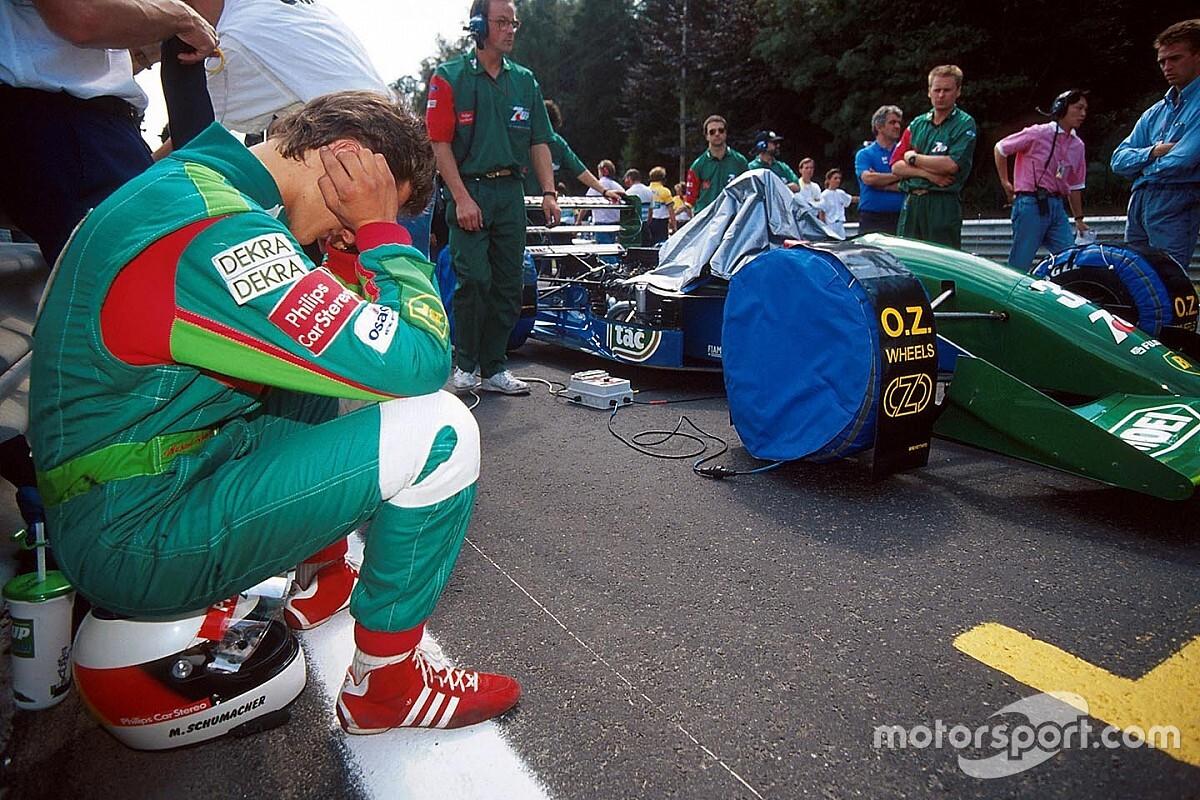 F1 tarihinde bugün: Schumacher, F1'deki ilk yarışına çıkıyor