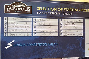 ERC Tappa Acropoli, ecco l'ordine di partenza della Prima Tappa