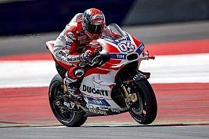 Ducati riders set to dominate Austria race, says Petrucci