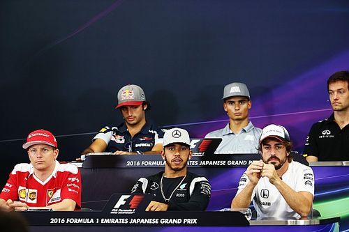 Japanese GP: Thursday's press conference