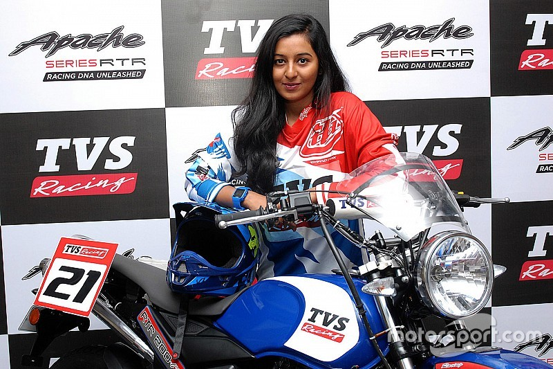 Shreya Iyer unfazed by gender stereotyping in motor racing