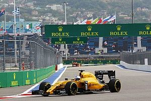 Sergey Sirotkin makes his FP1 debut for the Renault Sport Formula One Team