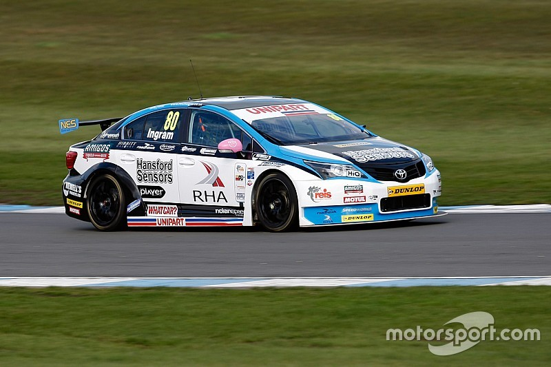 Ingram stripped of Brands Hatch front row qualifying spot