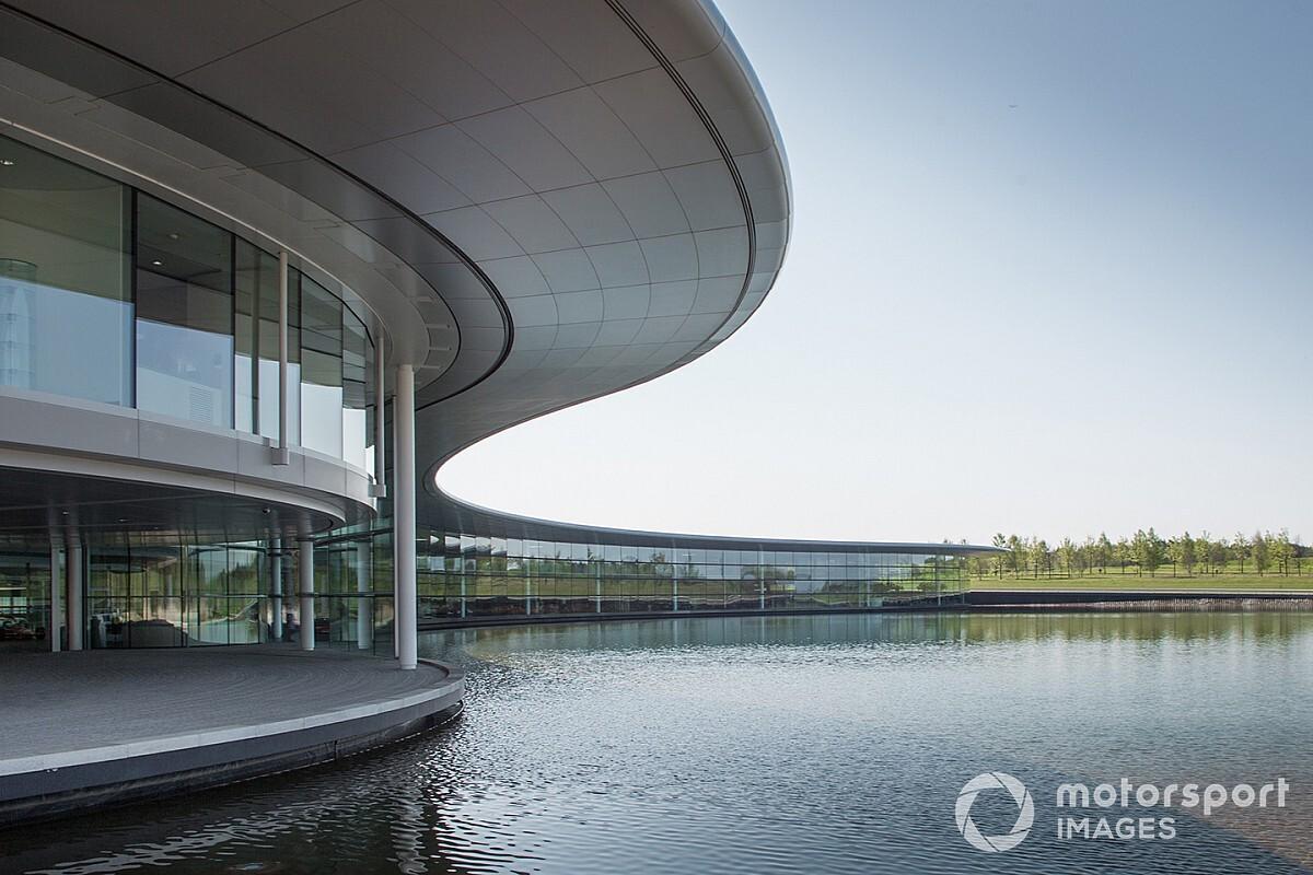 New McLaren F1 wind tunnel plans running one year behind