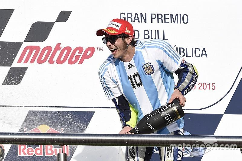 Rossi se prepara en Misano para la cita clave de Argentina