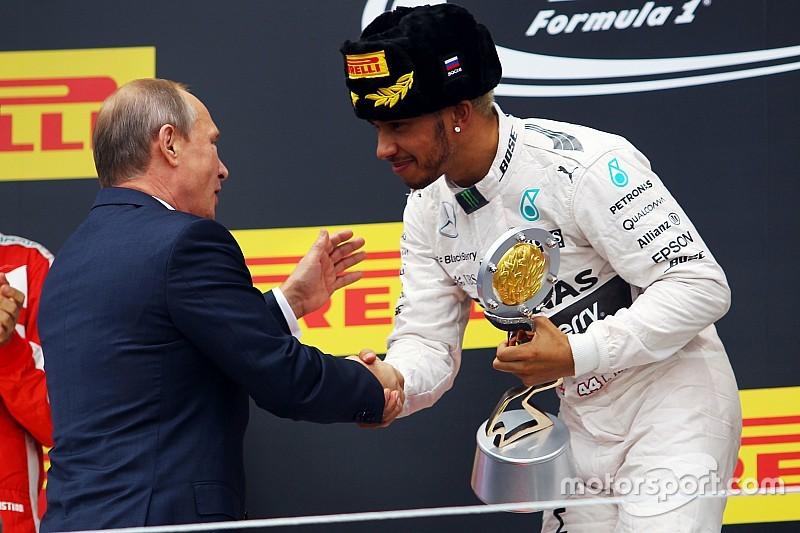 Favorita, Mercedes está invicta na Rússia desde 1913