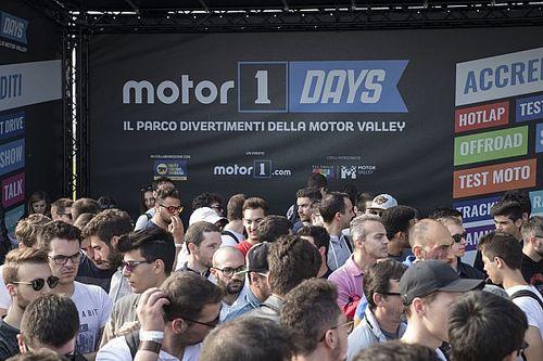 Motor1Days 2018: un grande successo di pubblico la festa di Motor1.com