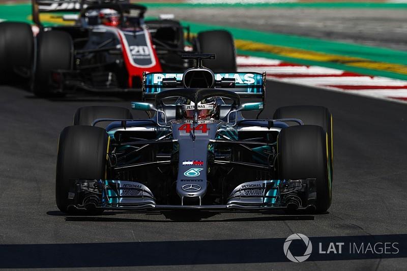 スペインFP2:難解な金曜。ハミルトン最速も、FP1タイム更新できず