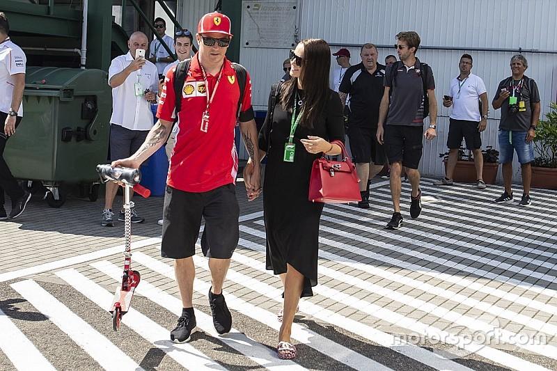 Räikkönen családi nyaraláson a Bahreini Nagydíj előtt