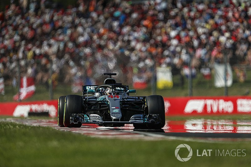 "Hamilton says ""big car change"" set up Hungary win"