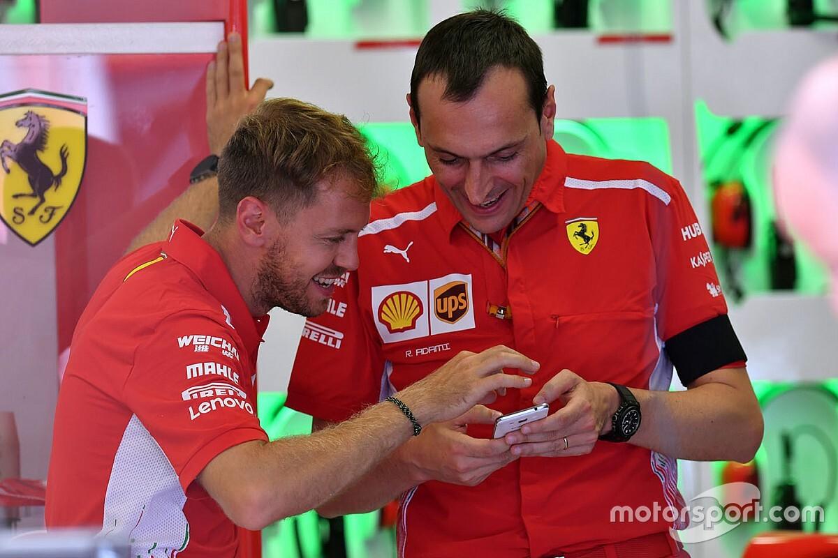 """Vettel: """"Adami, Ferrari'de kalacak"""""""