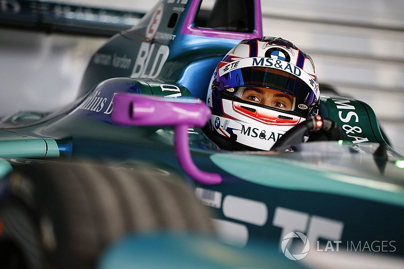 """Blomqvist şanslı Formula E yarışında """"gözlerinin açıldığını"""" söylüyor"""
