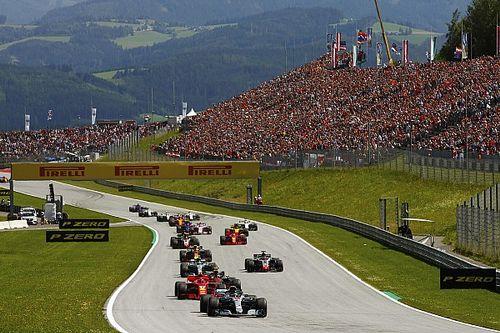Fotogallery F1: gli scatti più belli del fantastico GP d'Austria vinto da Verstappen