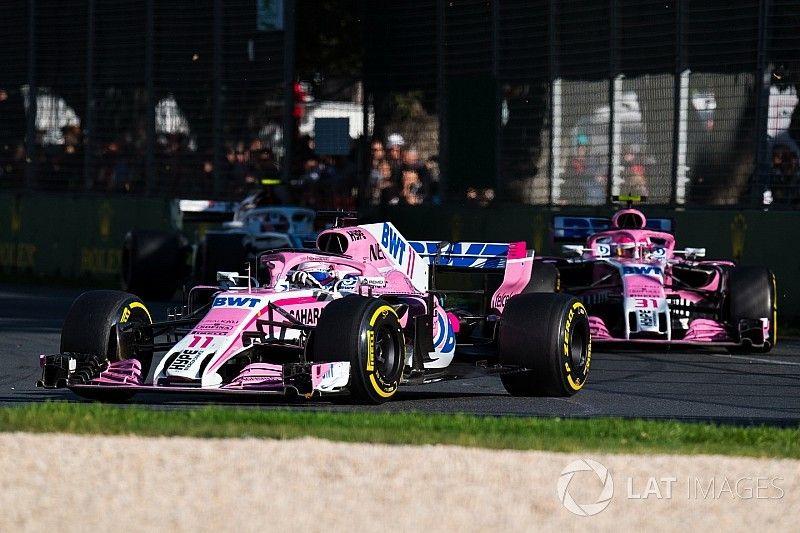 Terminó en Australia la racha 14 carreras de Force India sumando puntos