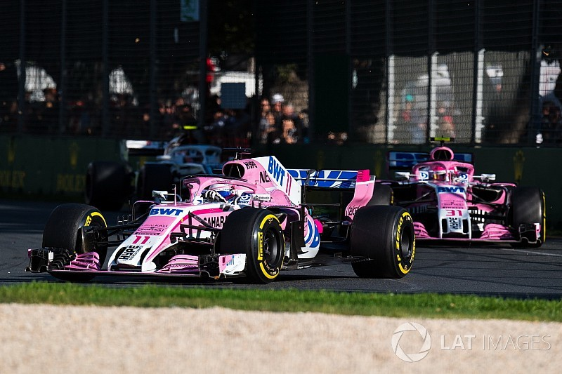 Force India's 14-race points streak ends in Melbourne
