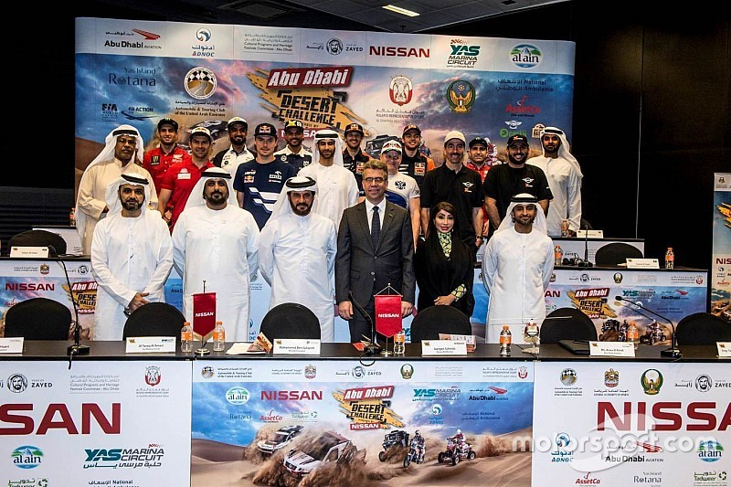 يوم واحد فاصل على انطلاق رالي أبوظبي الصحراوي 2018