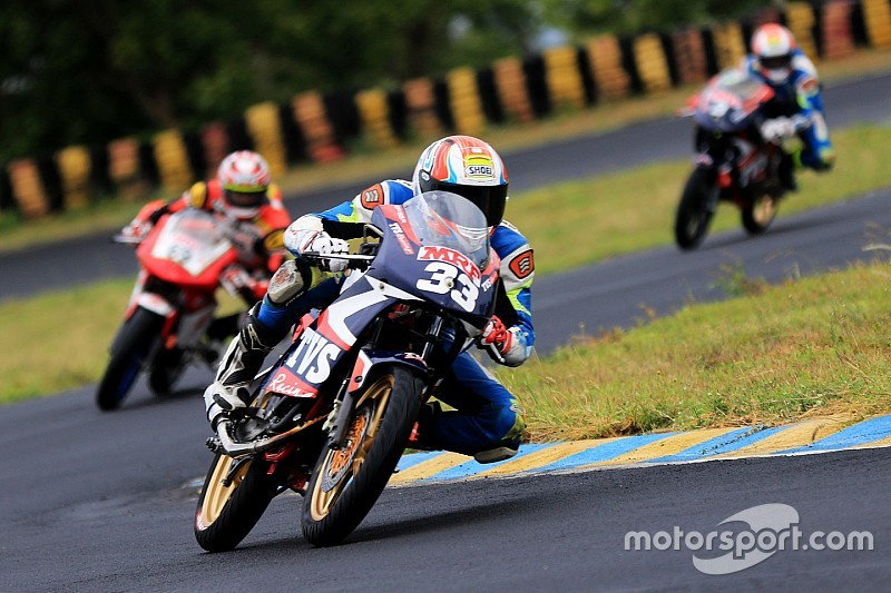 Coimbatore National Motorcycle: Ahamed leads TVS 1-2