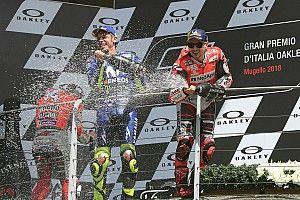 """Rossi: """"Es difícil decir que no esperas una victoria de Lorenzo, que es uno de los grandes"""""""
