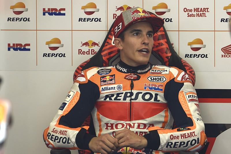 """Marquez: """"Le F1 hanno già creato bump nei punti di staccata sull'asfalto nuovo del Montmelo"""""""
