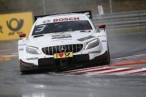 DTM Norisring: Di Resta snelste in natte VT1