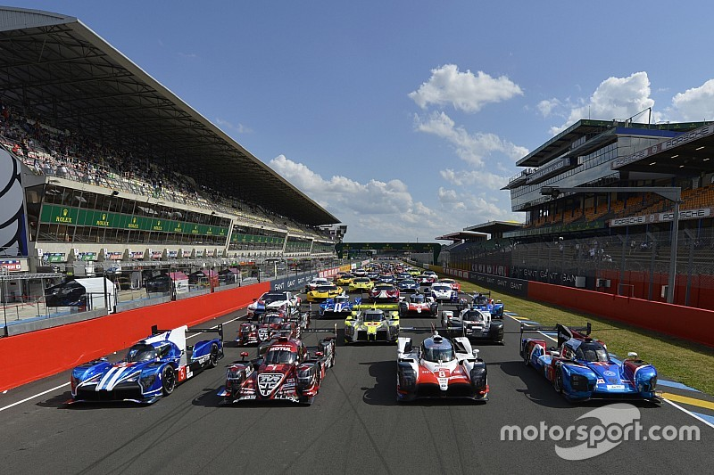 Le Mans test day: Full entry list