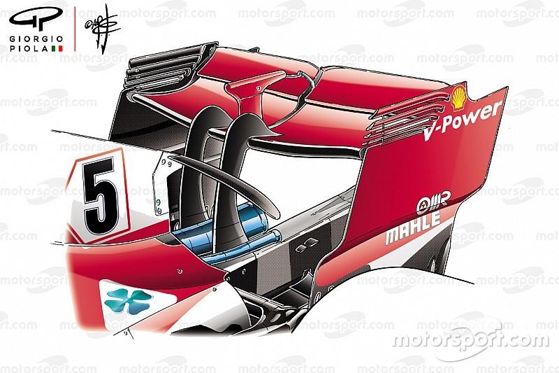 Análisis técnico: cómo se separaron los tres grandes de F1 en Bakú