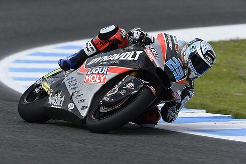 Moto2 in Jerez: Schrötter trotz Schulterverletzung in den Top 10