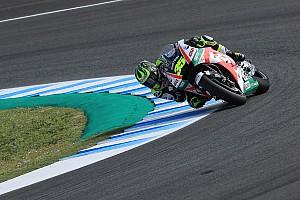 MotoGP Crónica de Clasificación Crutchlow se llevó la pole en Jerez con récord de vuelta incluido