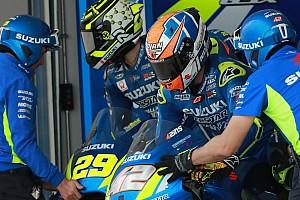 MotoGP Actualités Suzuki : Rins attend le contrat, Iannone a plusieurs options
