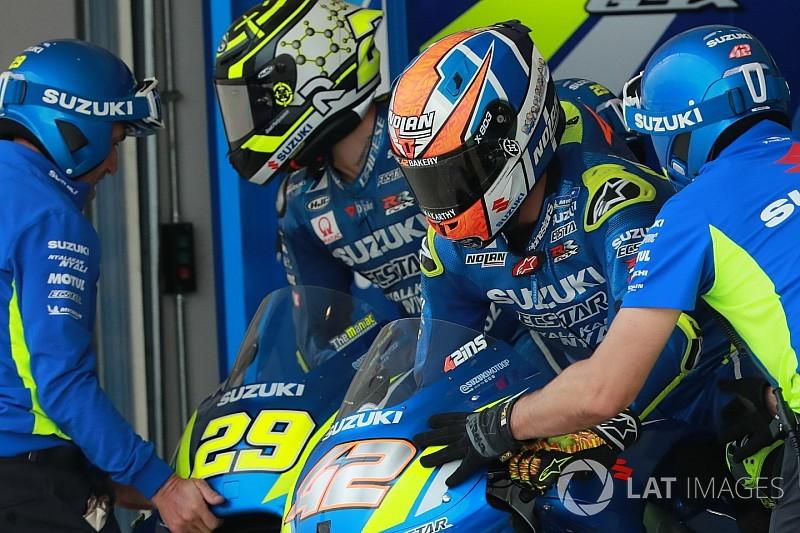 Suzuki : Rins attend le contrat, Iannone a plusieurs options