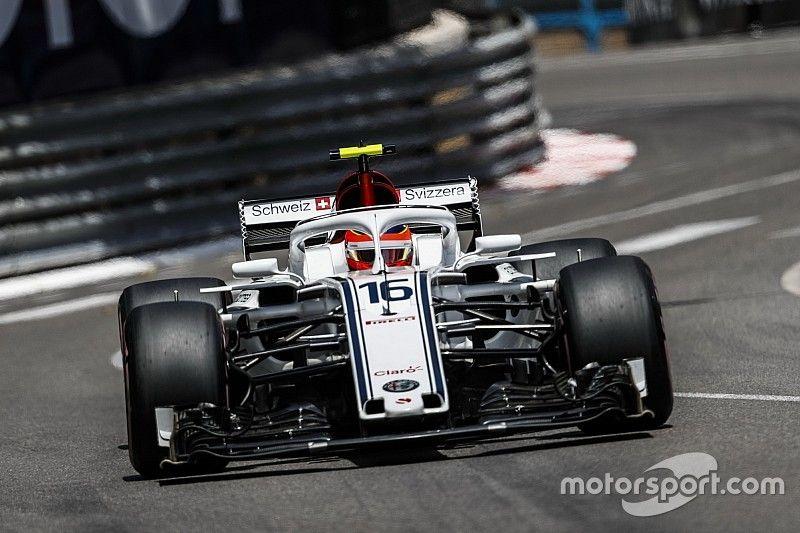 Videó: Így ért véget 2018-ban Leclerc versenye Monacóban
