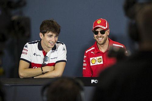 """Vettel über neuen Teamkollegen: Leclerc """"scheint ein guter Kerl zu sein"""""""