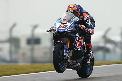 Donington, Gara 1: van der Mark regala la vittoria a Yamaha. 2° Rea