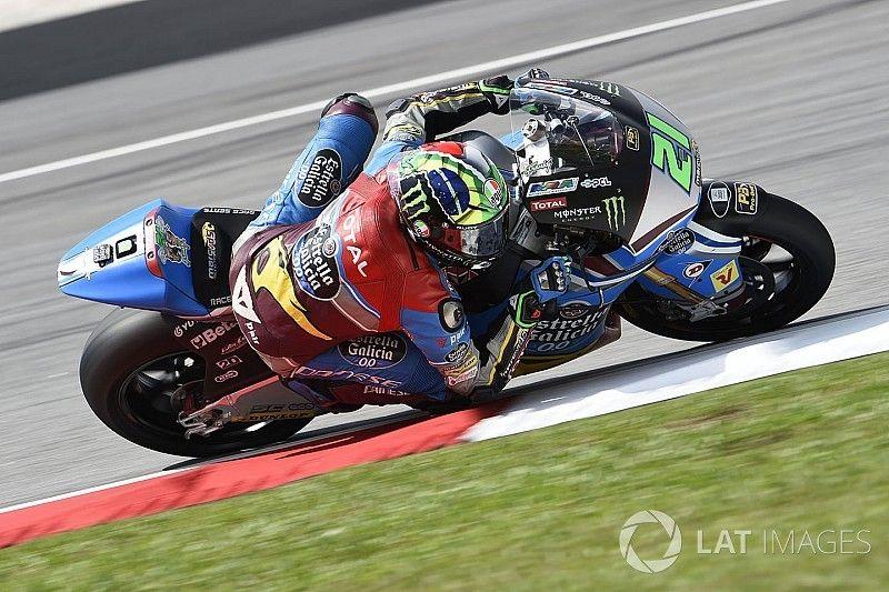 Morbidelli, campeón del mundo de Moto2 sin correr