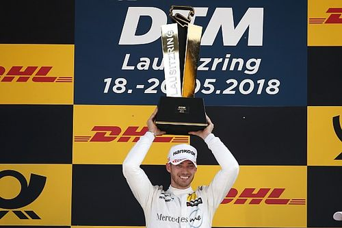 Mortara gana una accidentada carrera en Lausitz